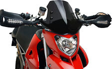 PUIG Windscreen BLACK Ducati Hypermotard 1100/S/796  # 5196N