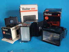 Vivitar Auto Thyristor 4600 System with 2 flash Heads for Film Cameras