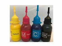 refill Pigment ink for Canon cartridge PG-245 and CL-246 4x30ml