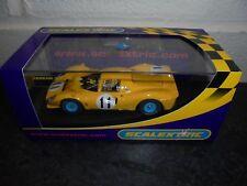 Scalextric C2787 FERRARI P4 jaune #11 M/B