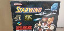 Nintendo Snes Starwing Gig Super Nintendo