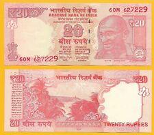 India 20 Rupees p-103 2018 (Letter L) UNC Banknote