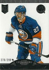 2013-14 Dominion Rookie Card of Islanders Captain Anders Lee 276/299 (13-14)