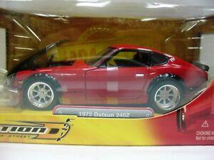 WOW EXTREMELY RARE Datsun Fairlady 240Z Drift Street 1972 Red/ Black 1:24 Jada