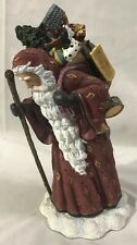 "Pipka - 6"" Reflections of Christmas - SANTA WITH TOYS - Limited Ed."