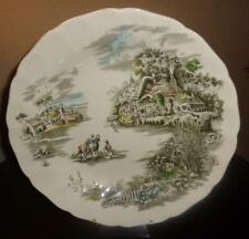 "JOHNSON BROTHERS LARGE PLATTER ""Happy England Pattern, Under Glaze Engraving"""