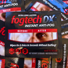 FogTech DX Anti-Fog solution for Welding goggles and visors. 5 x sachets