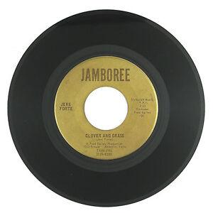 JERE FORTE Clover And Grass/Gypsy Lover 7IN (FOLK/ROCK/SOUL)  VG+/VG++ LISTEN!!!
