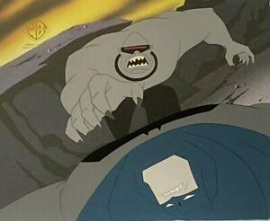 BRUCE TIMM rare BATMAN & LEADER cel 2 Legends of Dark Knight MILLER BTAS WB