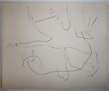 Miro Joan gravure originale signée 1965 art abstrait abstraction surréaliste