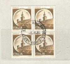 B8908 - ITALIA 1980 - CASTELLO - QUARTINA 1505 - MAZZETTA DA 50 - VEDI FOTO