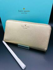 KATE SPADE NEW YORK Leder Smartphone Geldbeutel Tasche für iPhone Samsung GOLD