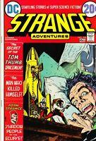 STRANGE ADVENTURES #238. NM/M. 1972. KALUTA COVER ART.