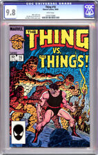 THING #16 CGC 9.8 WHITE PAGES FANTASTIC FOUR 1984