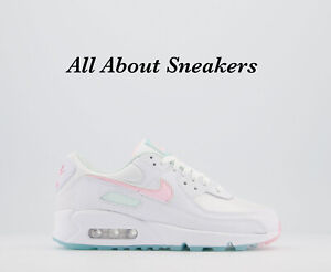 """Nike Air Max 90 """"White Arctic Punch Ba"""" Women's Trainers All Sizes Limited Stock"""