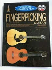 COMPLETE LEARN to PLAY Fingerpicking Guitar Manual Book + 2CD's Duncan ALL LEVEL