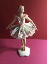 Tänzerin Ballerina Dresdner Porzellan 1900