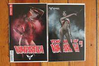 Vengeance of Vampirella 1 & Vol 5 #1 Cosplay Photo Variant Sexy Pinup Dynamite