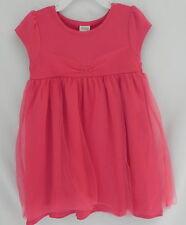 GYMBOREE  Girls beautiful Salmon Dress Short Sleeves w/ Diaper Cover 3T