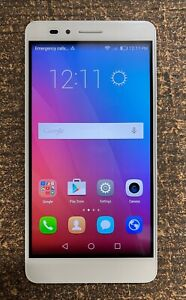 "Huawei Honor 5X 4G LTE Android 5.5"" Dual-SIM 16GB Unlocked Smartphone White"