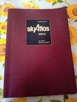 Atlante Astronomico Sky Atlas 2000 Deluxe edition NUOVO