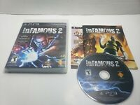 inFamous 2 Sony PlayStation 3 PS3 Complete w/ Manual CIB game free shipping! A6
