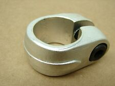 Vintage New NOS BMX Bicycle Royal Enfield Seat Post Clamp in SILVER