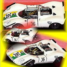 M92 1/43 Porsche 908/2 Zetweg 1969 M. Gregory Best Model