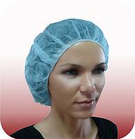 Lot de 10 Charlottes rondes pour protection hygienique des cheveux ideal soins