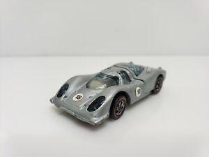 Vintage Hot Wheels Redline #18 Porsche 917 Silver 1969 USA