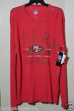 NEW NFL Free Safety Thermal Top - San Francisco 49ers -  G-III Apparel Red Sz L