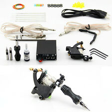 Coil Tattoo Kit Tattoo Coils Machine Guns Inks Needles Power Supply Grip Tip
