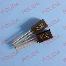 50pairs or 100PCS TOSHIBA TO-92L 2SA1145-Y/2SC2705-Y 2SA1145/2SC2705 A1145/C2705