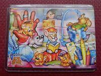 1 Puzzle - Ist die Katze aus dem Haus - 2002 - in Hüllen - 705 102 - mit BPZ