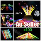 100 Mixed Color Glow Sticks Bracelets Light Party glowsticks glow in the dark