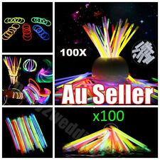 100 Mixed Color Glow Sticks Bracelets Light Party glowsticks glow in the dark