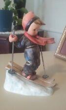 "Vintage Goebel Hummel  #59  Skier TMK 6 - Germany, 5 1/4"", Worth $170.00"