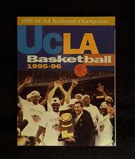 1995-96 UCLA Bruins Men's Basketball Schedule