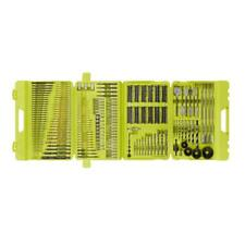 Multi-Material Drill Drive Bit Tool Kit 300-Piece Titanium Hand Tools with Case