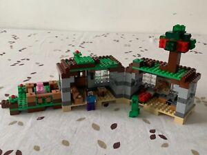 LEGO MINECRAFT : SET 21115 : LA PREMIÈRE NUIT - THE FIRST NIGHT