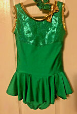 New childs ice figure skating dress tot size 4T costume twirler/dance/roller