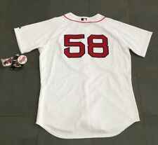 NWT Authentic On Field BOSTON RED SOX #58 PAPELBON Jersey 48 Majestic $200