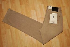 NEU  PIERRE CARDIN  Stretch Jeans  W33/34  Deauville  summer denim  braun 28
