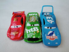 Disney Pixar Cars King/McQueen/Chick Hicks 3pcs Metal Toy Cars Set New Loose