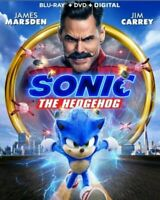 Sonic the Hedgehog Movie Blu-ray (Disc Only) No Case 2020 Jim Carrey