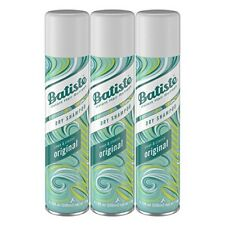 3 Count Batiste Dry Shampoo Original Fragrance Spray Clean Classic Hair 6.73 Oz.