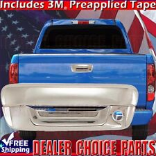 2004-2012 CHEVY COLORADO Triple Chrome ABS Tailgate Handle COVER Overlay Trims
