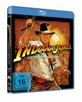 Indiana Jones - Teil: 1 - 4 -Complete Adventures [Blu-ray/NEU/OVP] Harrison Ford