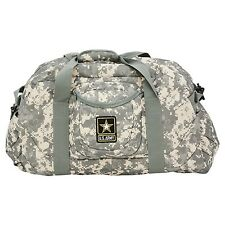 Official US Army Strong Military Camouflage Camo Duffle Bag Digital Camo Print