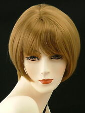 Short Wig Adorable Easy Chic Skin Part     Strawberry   Blonde     PU12